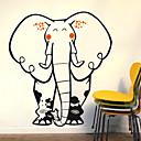 Animales elefante feliz pegatinas de pared