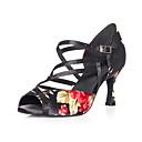 Image For personalizado fabulosas mujeres SATON correa del tobillo superior zapatos de baile latino / salón de baile más colores