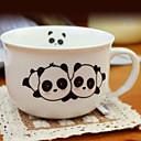 Panda Taza, 8oz Porcelana