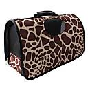 Assorted Patterns Nylon Cachorro Portable Net Travel Bag Carrier para Mascotas Perros