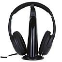 5 en 1 radio sin hilos del auricular FM Radio Monitor MP3 PC TV Audio Teléfonos móviles