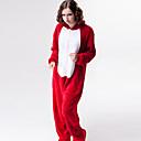 Unisex Lovely Red Fox Ahri Flannel Kigurumi Pajama