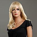 100% de Kanekalon del japonés de cuerpo Medio sintético peluca rizada (Ash Blonde)
