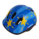 LUNA Ciclismo Azul PC  EPS 20 Vents Niños Cartoon Casco Protector