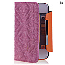 Image For Knit Lines Pattern Leather Full Body Case for iPhone 4/4S(Assorted Color)
