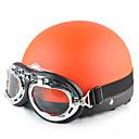 Image For le style harley mode abs matériau moto casque demi (couleurs en option)