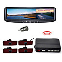Car Rearview Mirror With 4.3