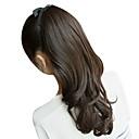 17 Ribbon Inch Atado Negro natural sintético ondulado del Ponytail Hair Extensions