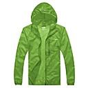chaqueta de lluvia senderismo impermeable resistente ultravioleta de los hombres