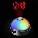 "2.5 ""H proyector despertador"