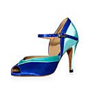 Image For Customized satinado superior del tobillo América / baile de salón Zapatos de mujer con hebilla (más colores)