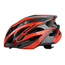 LUNA Ciclismo Negro  Naranja PC / EPS 21 Protective Vents Ride Casco