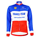 Image For Kooplus - French National Team Cycling Long Sleeve Fleece Jersey