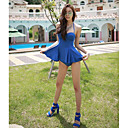 Acero delgado vestido de Tankini de las mujeres atractivas HM5504