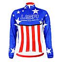 Image For Kooplus - American National Team Cycling Long Sleeve Fleece Jersey