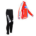 Image For Kooplus - Norwegian National Team Cycling Long Sleeve Fleece Bib Suit