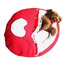Amor-corazón del cordón suave del gatito del perrito Sleeping Bag Pad Cama para Mascotas Perro Gato