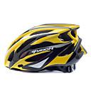 LUNA Ciclismo Amarillo  Negro PC  EPS 25 Vents MTB Casco Protector