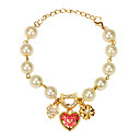 Sweet Alloy Gold With Imitation Pearl Womens Bracelet