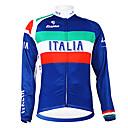 Image For Kooplus - Italian National Team Cycling Long Sleeve Fleece Jersey