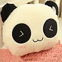 En forma de patrón de la panda de ojos cerrados de peluche encantador Pillow