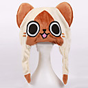 Image For Monster Hunter The Cat Plush Hat Cosplay Headgear