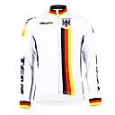 Image For Kooplus - German National Team Cycling Long Sleeve Fleece Jersey