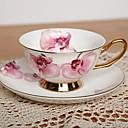 Dahlia Coffee Mug,Porcelain 7oz