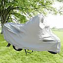 Image For SENHU PEVA Material Motorcycle Anti-UV Antifreezing Dustproof Waterproof Outdoor Cover (Silver)