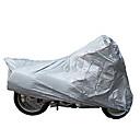 Image For Tanked Racing TM004 PVC Material Motorcycle Anti-UV Antifreezing Dustproof Waterproof Outdoor Cover (Silver)