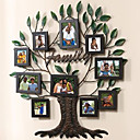 Unique Family Tree  Collage Picture Frames, Set of 10