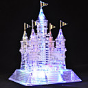 105 Piezas Glittery Musical Crystal 3D Castillo de Puzzles