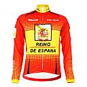 Image For Kooplus - Spanish National Team Cycling Long Sleeve Fleece Jersey