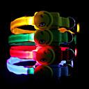 Nylon Smile Pattern LED Collar for Pet Dog (Random Color)