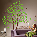 Botanical Lover Trees Decal Mural Removable Wall Stickers