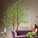 Botánico Amante Árboles Decal Mural Pegatinas de pared desmontable