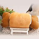 Brown Bone Rolls Shape Plush Toy for Pets