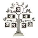 """11 """"H Estilo Moderno Marco de la forma del árbol de metal de imágenes"""