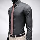 Mens Stripe Stylish Slim Fit Long Sleeve Shirt