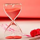 15 Minutos Reloj de arena con arena roja
