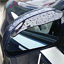 2X Espejo retrovisor de coche de agua de lluvia Cejas Cubierta del Protector Lateral