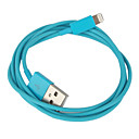 Cable de Carga y Datos con Iluminación (8 Pin) para iPhone 5, iPad Mini, iPad 4, iPod (100cm Longitud)