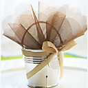 Metal Favor Pail with Bow - Set of 6