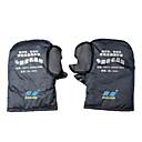 Windproof Waterproof Keep Warm Motorcycle Gloves (Denim Material,S)