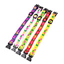 Polyester Butterfly Pattern LED Collar for Pet Dog (Assorted Size,Random Color)