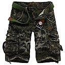 Mens Handsome Camouflage Shorts(without Belt)