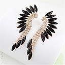 Charming Alloy Gold With RhinestoneGlass Womens Earrings(More Colors)