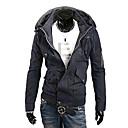 Hombres Moda Ocio Deportes Relajación de 2 capas chaqueta de cuello (el tamaño clasificado, colores surtidos)