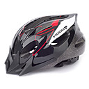 LUNA Ciclismo Rojo y Negro PVC / EPS 16 Vents Adolescente Light Bike Helmet