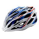 LUNA Ciclismo Azul  Blanco PC / EPS 28 Vents MTB Helmet